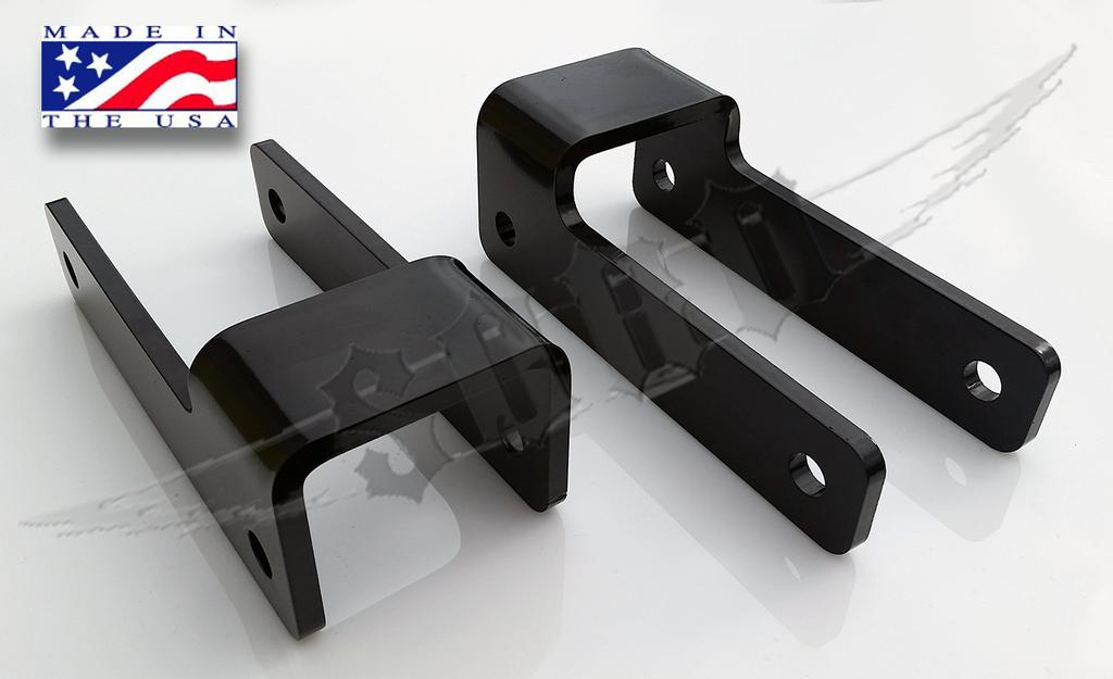 Chevy S-10 Rear Lift Shackles - Solid Axle Conversions