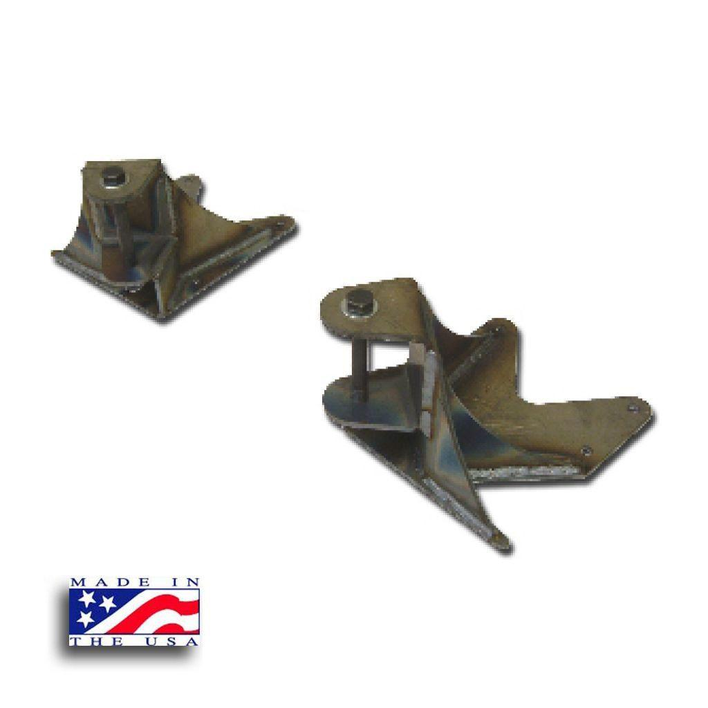 Chevy Solid Axle Swap Shackle Hangers - Solid Axle Conversions